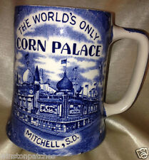 ENCO NATIONAL STAFFORDSHIRE WARE ENGLAND CORN PALACE MUG 20 OZ MITCHELL SD