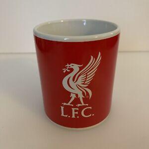 Liverpool FC LFC Coffee Mug Tea Cup Ceramic Red White Logo Soccer Foorball