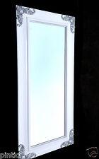 XXL SPECCHIO MURO BIANCO ARGENTO 180x80 friseurspiegel corridoio grande