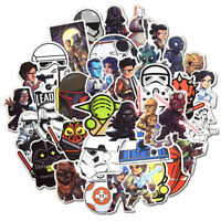 50x Star Wars Cute Style DIY Stickers in Luggage  Laptop Skateboard Car Guitar