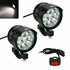 2Pcs 8X 80W XM-L T6 LED bombilla Spot Lámpara Luz de Niebla para 4-84V Auto Moto Bicicleta