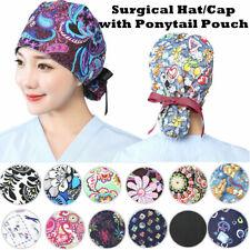 Strawberry Thief Scrub cap Doctors hat ponytail surgical hat OR hat nurse hat