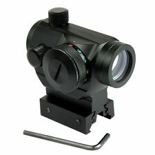 "Tactical Holographic Green / Red Dot Sight Scope w/ Rail Mount & 1"" Rail Riser"