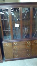 Henkel-Harris  Mahogany China Cabinet