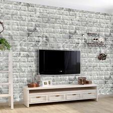 10PCS 3D плитка кирпичная стена стикеры, самоклеящаяся водонепроницаемый пены панели обои