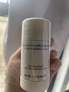 Donna Karan Cashmere Mist Deodorant Anti-Perspirant Stick  1.7 oz 50 ml NEW