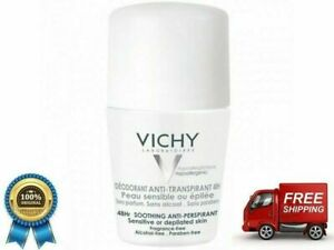 Vichy DEODORANT 48hrs Roll - On Soothing anti-perspirant roll-on 50ml