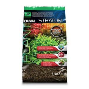 Fluval Stratum Plant and Shrimp Substrate 2kg Aquarium Fertilser
