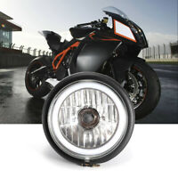 """12V Universal 6"""" Motorcycle Scooter Choppers Headlight LED Front Light Headlamp"""
