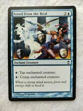 Freed From The Real mtg magic the gathering NM/LP Blue kamigawa CNY