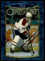 1994-95 TOPPS FINEST HOCKEY VALERI BURE MONTREAL CANADIENS #48