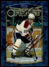 1994-95 TOPPS FINEST HOCKEY VALERI BURE MONTREAL CANADIENS #48