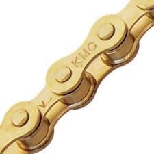 "KMC S1 Single Speed Chain 1/8"" Gold"