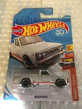 2018 Hot Wheels #204/365 HW Hot Trucks 1/10 Mazda Repu White