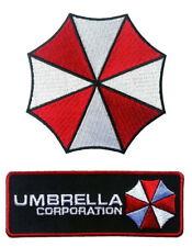 2pc Umbrella Corporation Resident Evil Biohazard Costume Patches