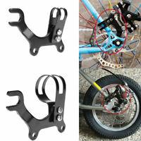 Adjustable Bicycle Bike Disc Brake Bracket Frame Adaptor Holder SALE Mounti U0M3