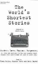 The World's Shortest Stories (1998, Cassette / pack, Unabridged) Un-open