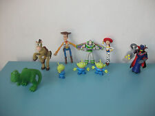 16.5.6.6 Lot 9 Figurines Toy Story 4 à 10 cm aliens woody buzz pile poil