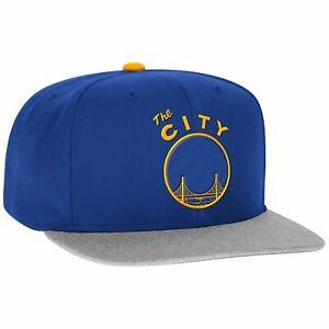 Adidas NBA Men's Golden State Warriors Hardwood Classic Team Snapback Cap