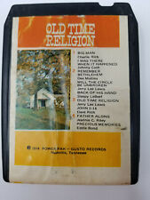 8 Track Tape Old Time Religion Compilation Christian Pop Hymns