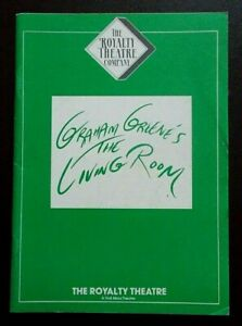 The Living Room programme Royalty Theatre 10.1987 Peter Blythe Judy Campbell