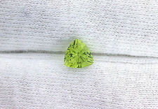 6mm Trilliant Natural San Carlos Aizona Apple Green Peridot Gemstone Gem Stone