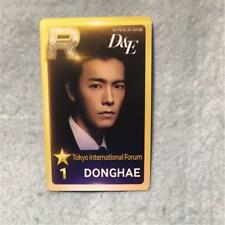 Super Junior D&E DONGHAE  photocard Tour STYLE International Forum photo card