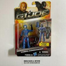 "Hasbro GIJOE Retaliation 3.75"" Ultimate Cobra Commander MOC Sealed"