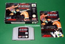 ECW Hardcore Revolution mit Anleitung und OVP ( Wrestling ) fuer Nintendo 64 N64