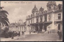 Monaco Postcard - Monte Carlo - Entree Du Casino    RS3739