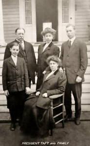 President William Howard Taft With His Family  6x4 PHOTO
