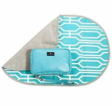 Elari 5-in-1 Diaper Clutch and Portable Changing Station: Turquoise
