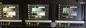 MARSHALL V-R63P-SDI 3x 7 Zoll SD Monitor 19 Zoll