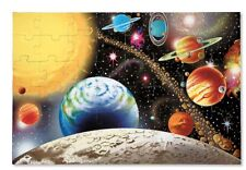 Solar System Floor Puzzle 48 Pieces - Melissa & Doug Planet Moon Sun Toy Game