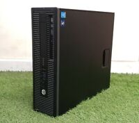Fast Cheap HP Prodesk/Elitedesk SFF PC i3 4th Gen 8GB RAM 500GB HDD Windows 10