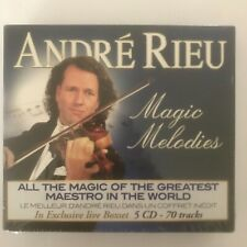 André Rieu magic melodies 5 cd neuf sous blister