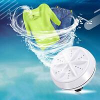 Mini Waschen Waschmaschine Waschmaschine Tragbare Rotierende Ultraschall-Tu C1C3