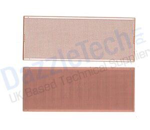 Copper stripboard 100 x 250mm 35 strip x 97 hole prototype vero board CIC 21-119