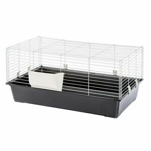 100 cm INDOOR RABBIT CAGE SMALL ANIMAL PET HOME RAT GUINEA PIG HUTCH HOUSE 4555