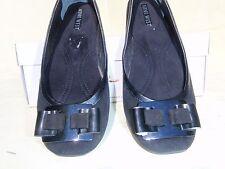 """new NINE WEST """"Olivette"""" black suede leather FLATS size 6 US / 36 EU"""