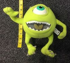 2001 Hasbro Disney Pixar Monsters Inc Working Electronics Mike Plush Toy Used