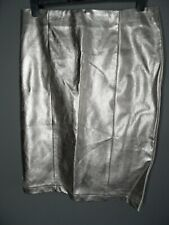 NEXT Pencil Skirt Size 12 Metallic Midi Wiggle Festival Occasion Straight