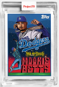 Topps Project 70 Card 89 - 1993 Mookie Betts by Snoop Dogg -Presale-