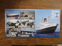 NEW ZEALAND 2018 WARTIME 50th ANNIV 6 STAMP MINI SHEET MINT