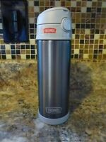 Thermos 16 oz. Funtainer Vacuum Insulated Stainless Steel Water Bottle NEW