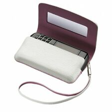 Blackberry Bianco Real Leather Folio Case Cover per BB Bold 9700, 9780, 8520 9300