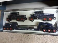 Ridotto Nuovi CORGI pickfords Set-2 SCAMMELL CONSTRUCTOR & 24 RUOTE Low Loader Set