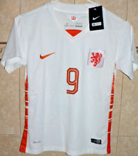 NETHERLANDS HOLLAND WHITE NIKE VAN PERSIE #9 NATIONAL SOCCER TEAM JERSEY XS SZ