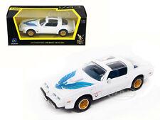 1979 PONTIAC FIREBIRD TRANS AM WHITE 1/43 DIECAST MODEL CAR ROAD SIGNATURE 94239