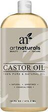 Art Naturals 100% Pure Castor Oil-473 ml - Best Massage Oil & Moisturizer for...